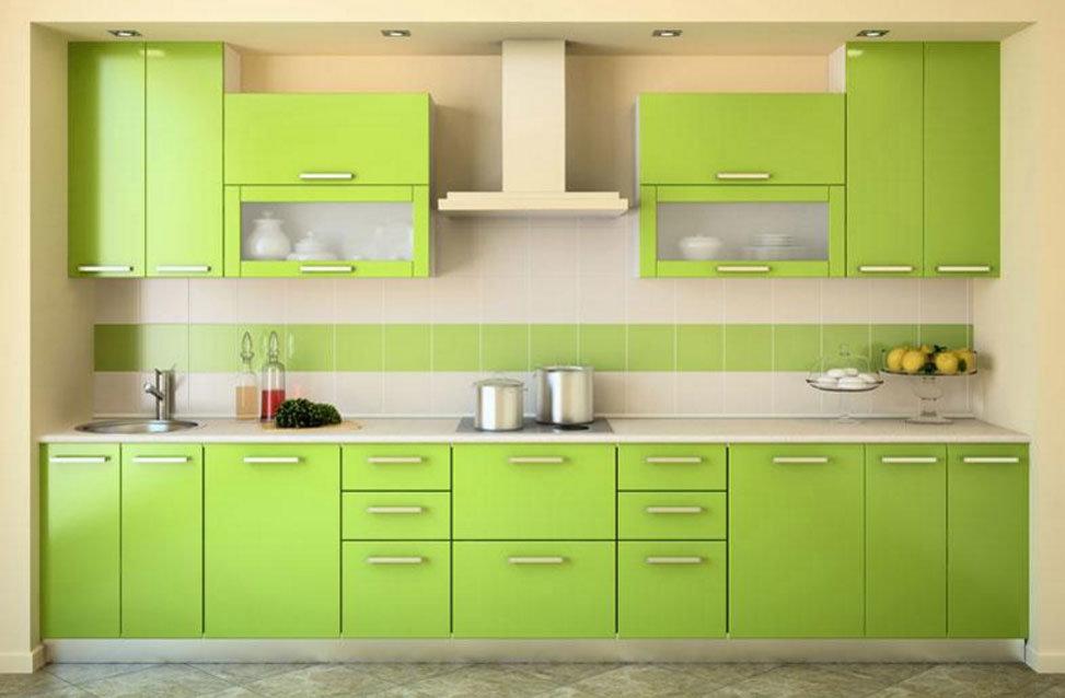 Cucina Progettazione Natural Green Kitchen Design With Modern