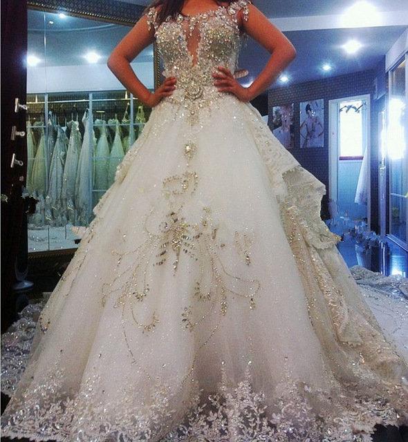 Самые дорогие свадебные платья купить