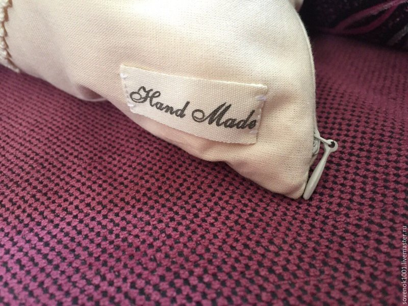 Купить Подушка интерьерная ручной работы (hand made) в стиле шебби ... Подушка интерьерная ручной работы (hand made) в стиле ...