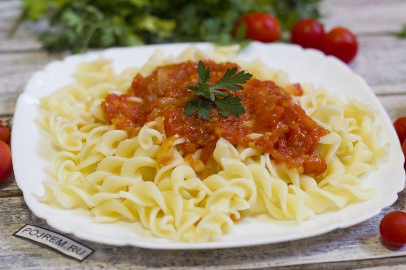 Простой соус к спагетти рецепт в домашних условиях