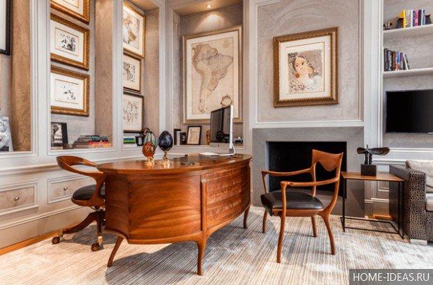 Безусловно, не существует универсальных авторских решений по разработке дизайна домашнего кабинета, поскольку у каждого человека есть свои определенные потребности и взгляды на то, как должно быть устроено его рабочее место.