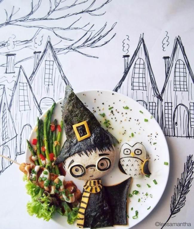 Картины на тарелках для детей от Саманты Ли показывают героев мультфильмов, сказочных персонажей, музыкальных исполнителей, известные места и многое другое.