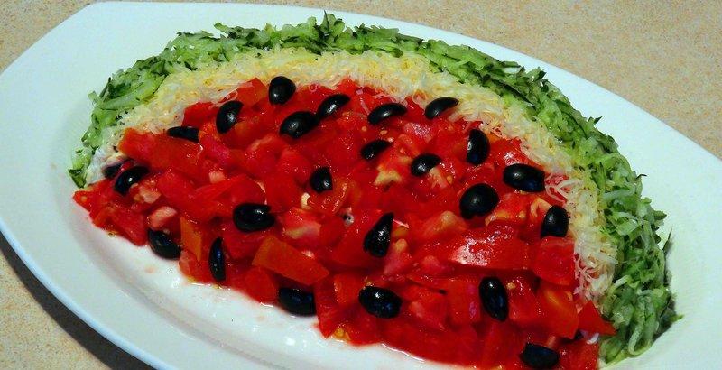 салат для праздничного стола с фото