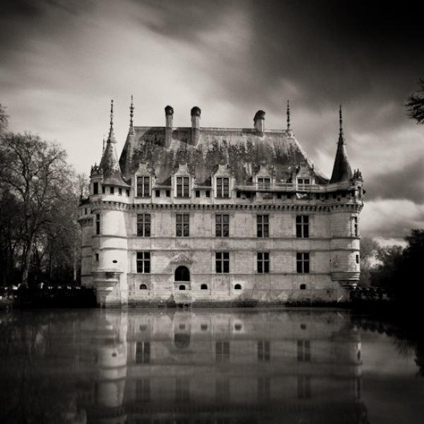 Картинки замков черно белые