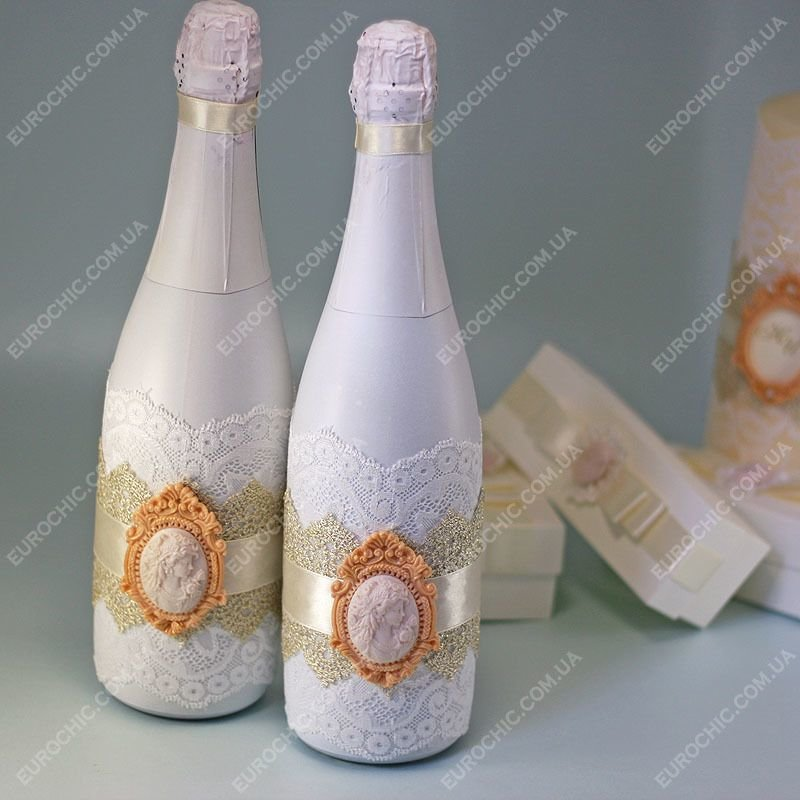 бутылки свадебные картинки