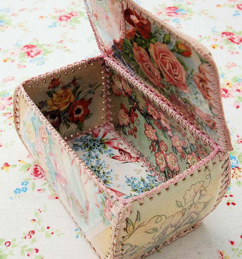 Как сделать шкатулку из открыток своими руками