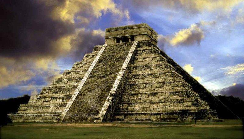 Пирамиды майа