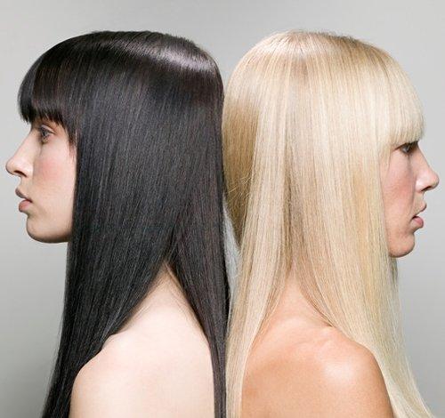Причёски для блондинок и брюнеток