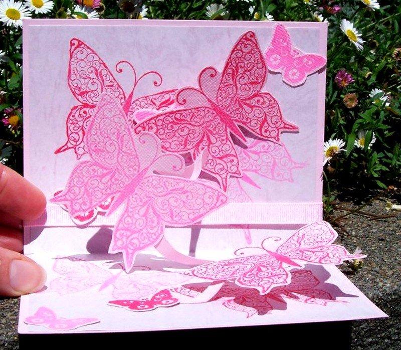Как делать объемные открытки своими руками на день рождения, днем рождения