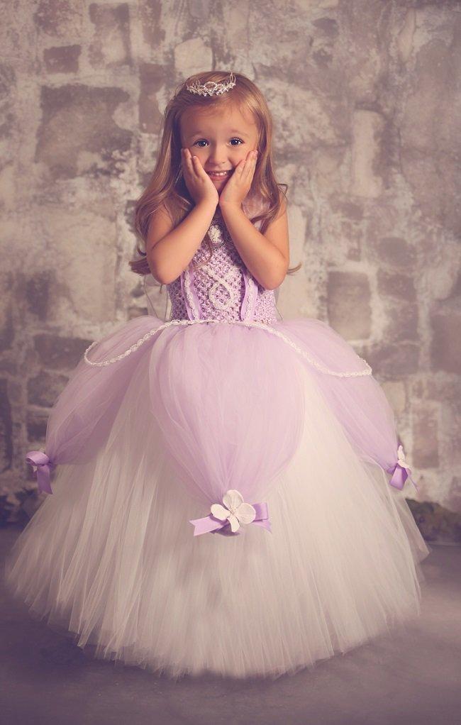 Платье для маленькой своими руками
