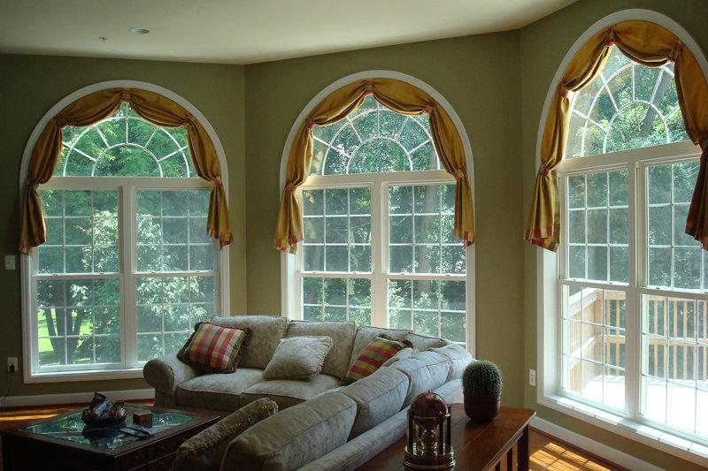 того чтобы арочные окна в частном доме фото праздником