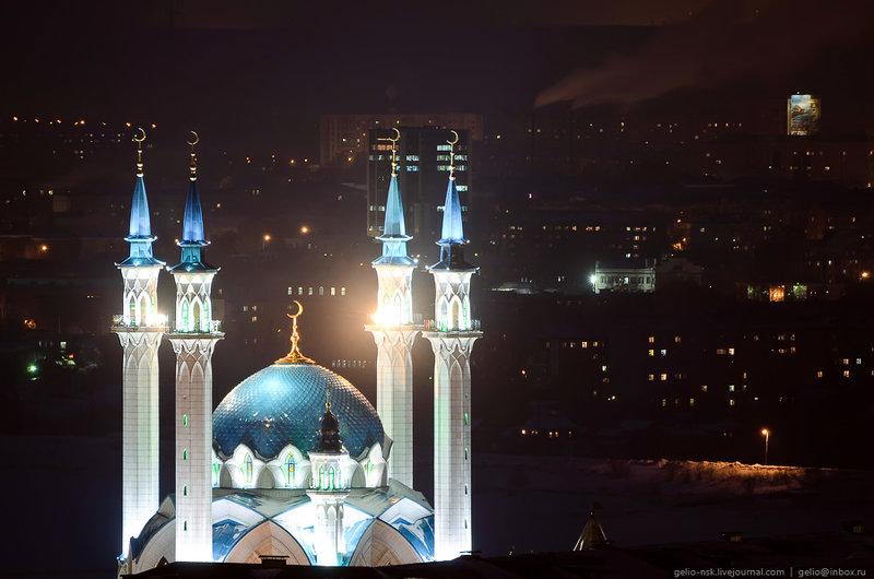 Мечеть Кул-Шариф - главный мусульманский храм Казани и Татарстана. Достопримечательности на Новый год