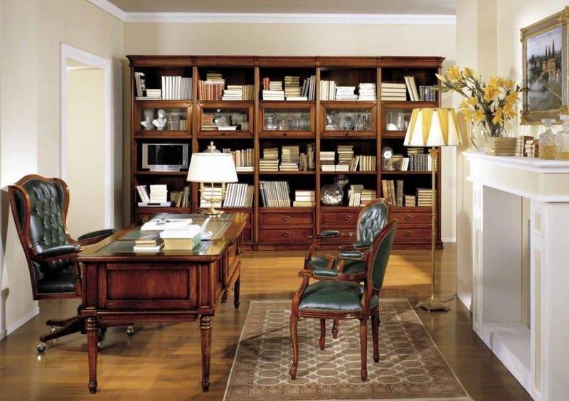 Любой успешный работающий человек имеет необходимость в хорошем домашнем кабинете