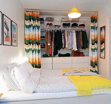 200+ карточек на тему «Дизайн спальни с гардеробной» в ...  Дизайн Спальни С Угловой Гардеробной