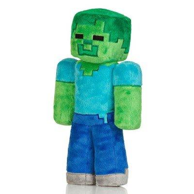 Большой плюшевый Зомби из Minecraft 30см