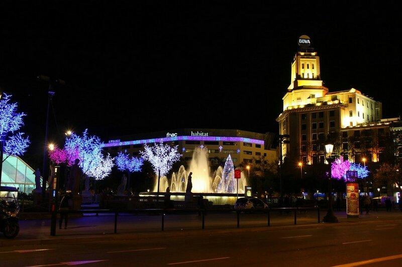 Барселона перед Рождеством