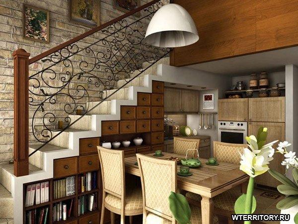 Идеи для лестниц - Дизайн интерьера дизайн интерьера