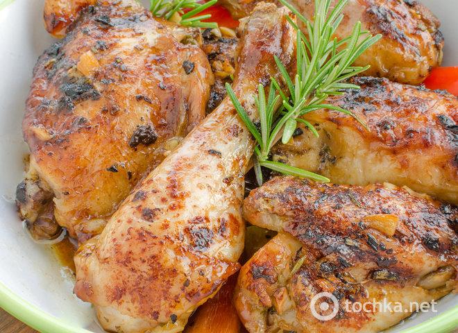 Домашняя курица в соевом соусе