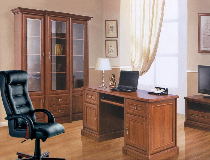 Мебель для домашнего кабинета в стиле кантри