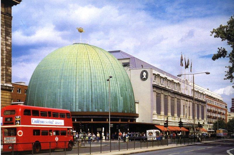 Здание Музея мадам Тюссо в Лондоне