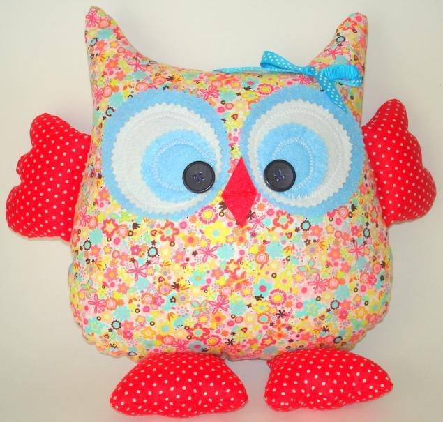 новые картинки декоративная подушка сова своими руками мастер класс синего