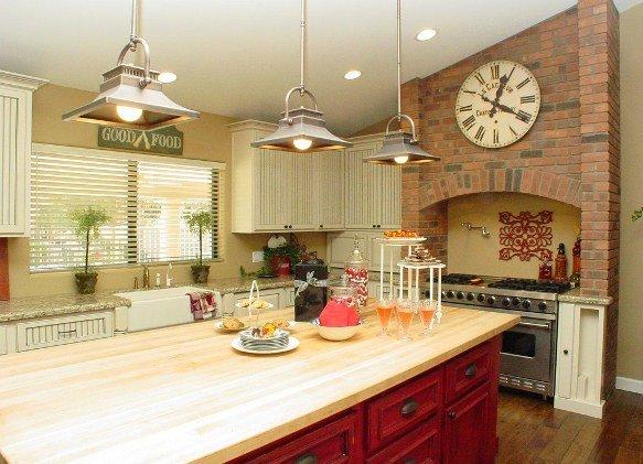 Кухонные часы, идеально подходящие к викторианскому стилю