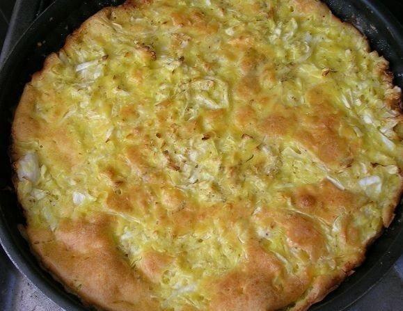пирог из капусты для ленивых