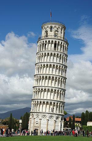 Пизанская башня — Википедия Пизанская башня