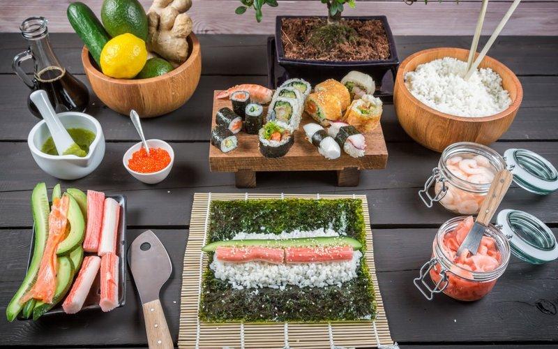 Суши роллы Калифорния в домашних условиях рецепт с фото 91
