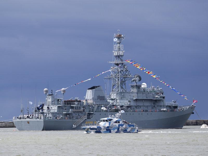 Боевой корабль «Адмирал Юрий Иванов»