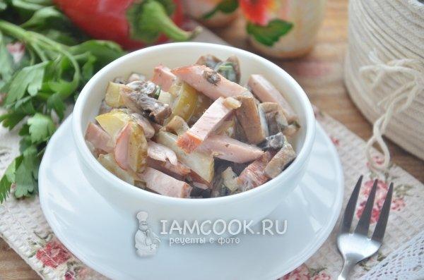 салат изгрибов рецепты и фото