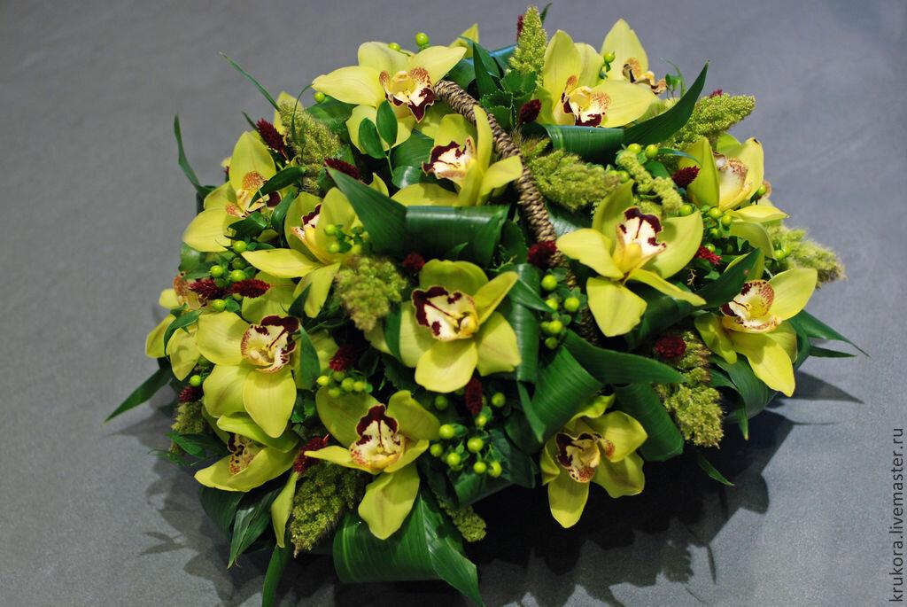 Невесты оберег, круглый букет из орхидей как сделать