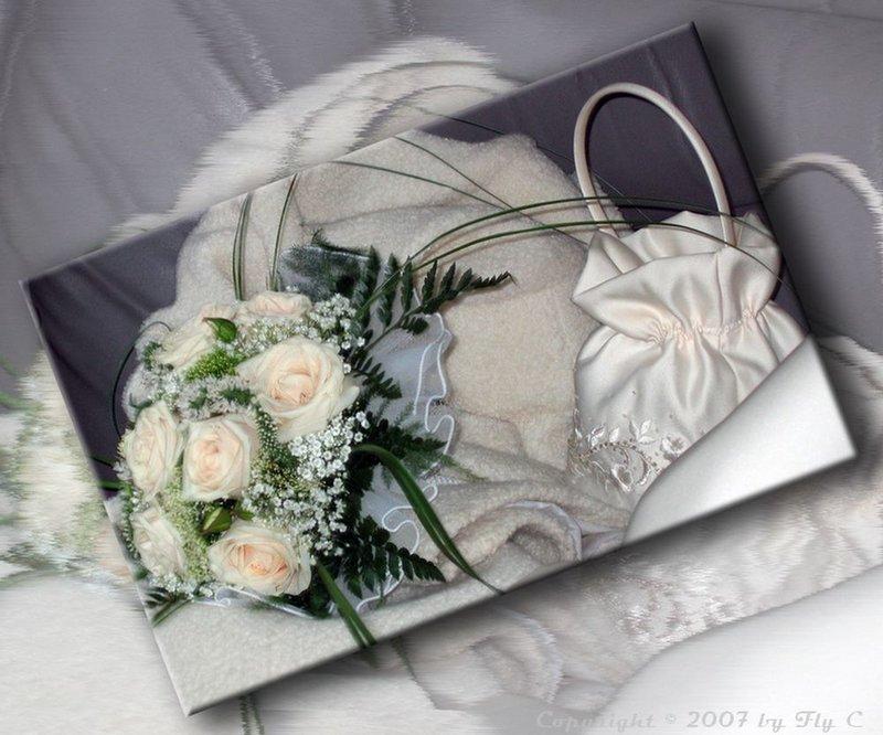 Открытки на свадьбу объемные.