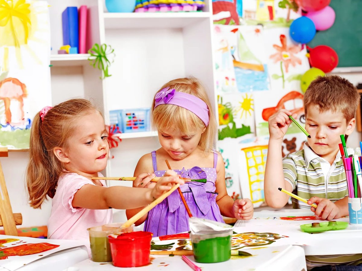Фото и картинки детей в детском саду, смешной зверь