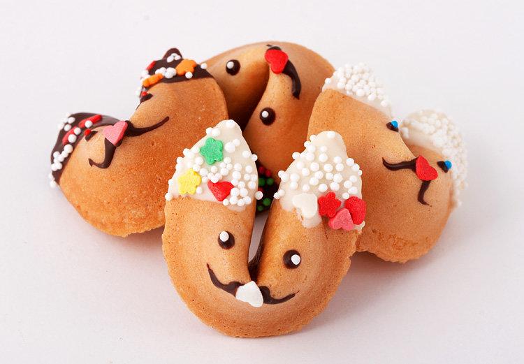 салфетку вчетверо, печенье с пожеланиями на новый год рецепт бывшего