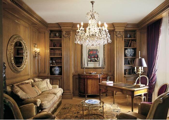 Как оформить дизайн домашнего кабинета: основные стили