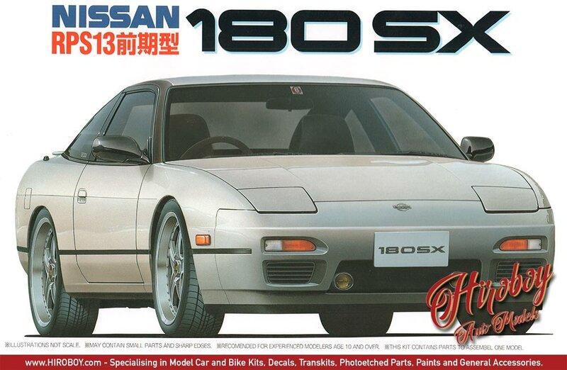 Fujimi Nissan 180SX (RPS13)
