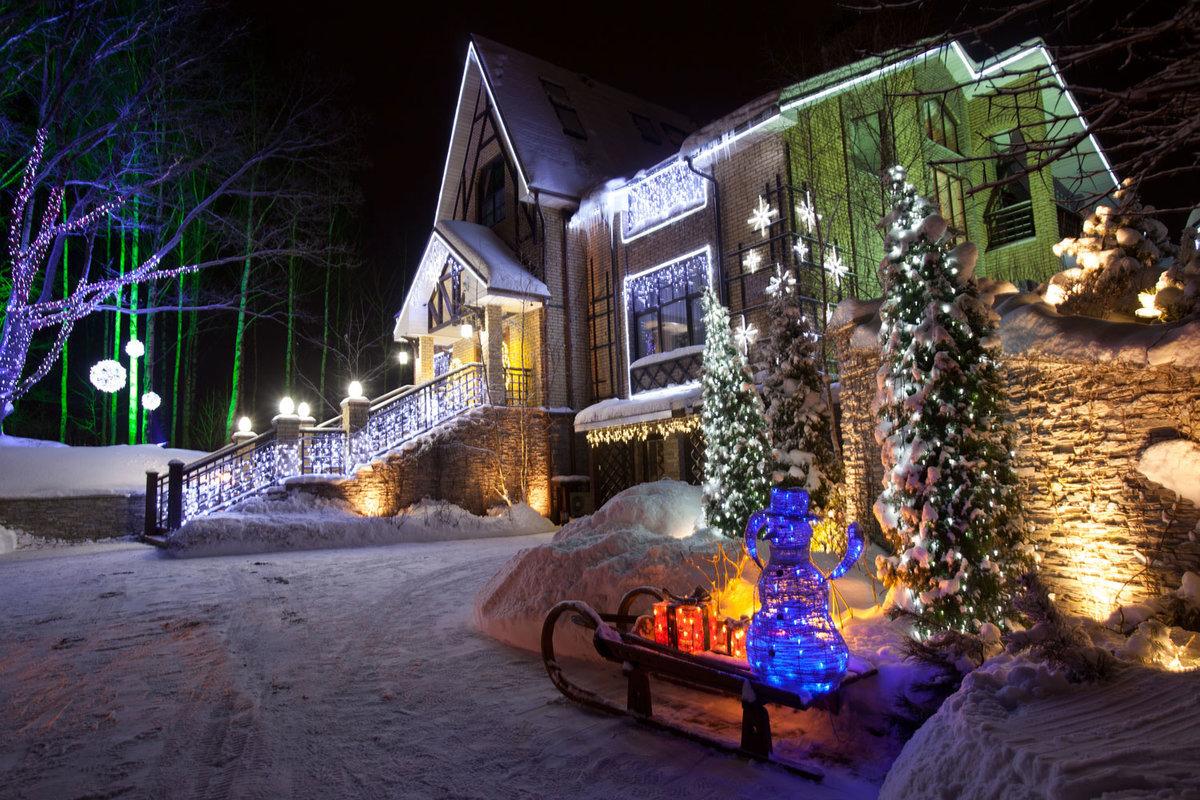 смешные приколы фото домов украшенных к новому году данным газеты, каратели