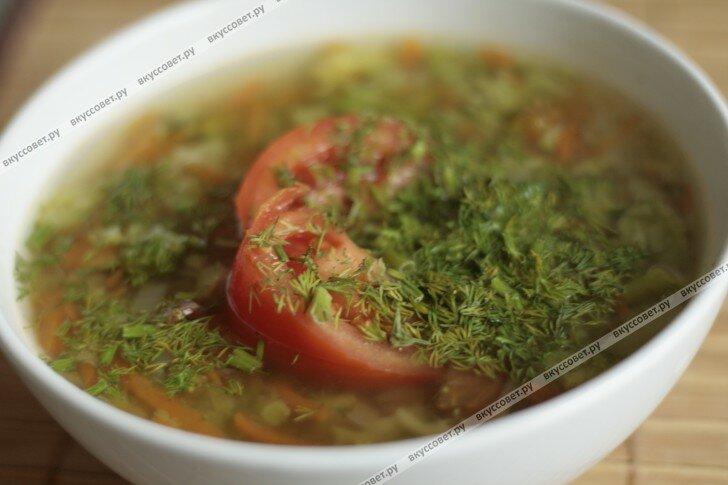 Овощной суп из брокколи