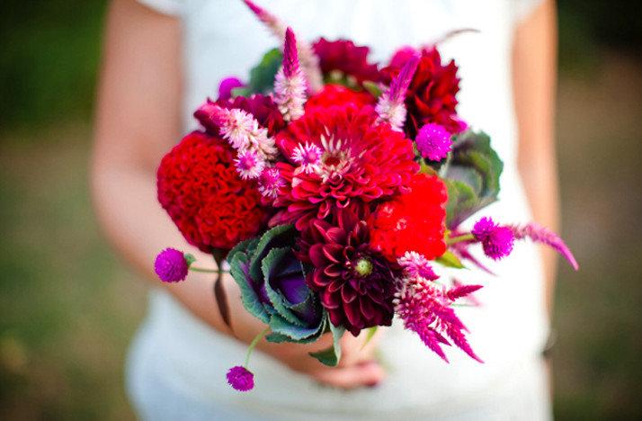 Букет невесты мода 2017, букет цветов