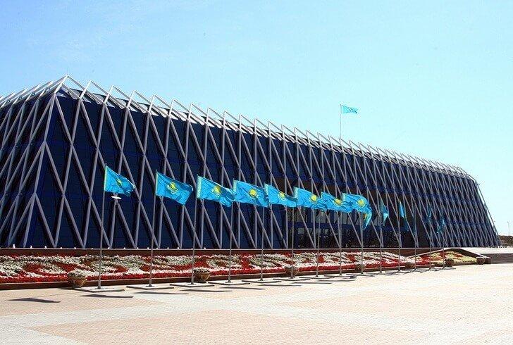Дворец Независимости в г. Астана Еще одна современная достопримечательность  Казахстана. Здание построено в форме fcb3868807c