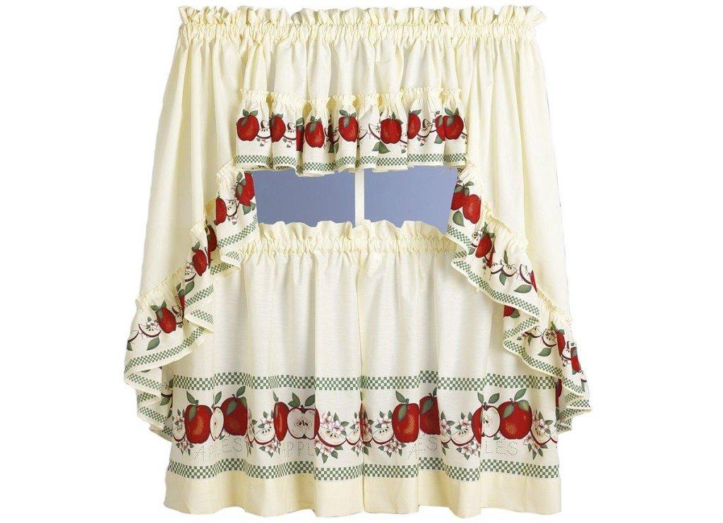 Как сшить на ткани яблоко
