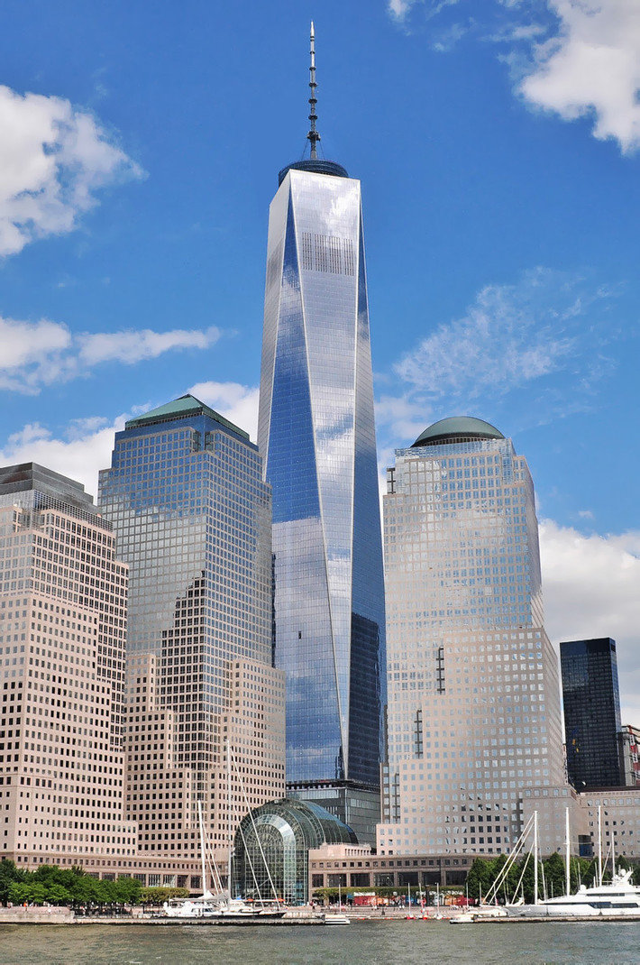 One World Trade Center, Нью-Йорк, США.