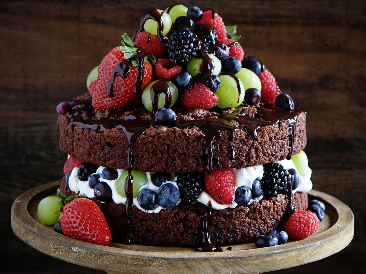Лето, картинки тортик красивый