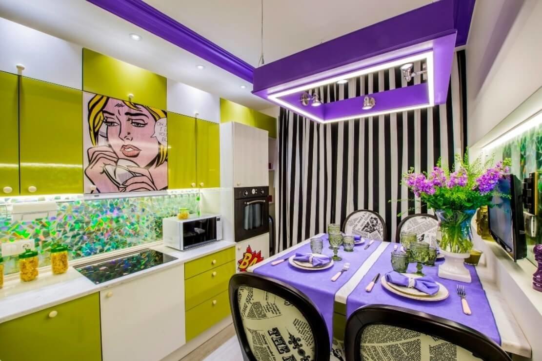 кухня поп арт