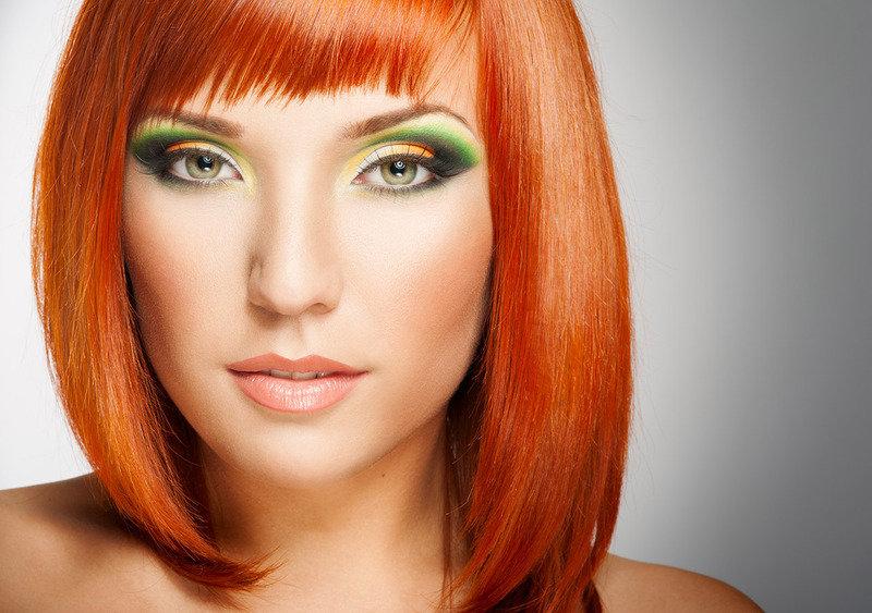 Модный макияж для рыжих фото