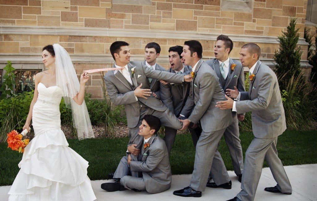 интересные идеи для свадебной фотосессии невеста остановили