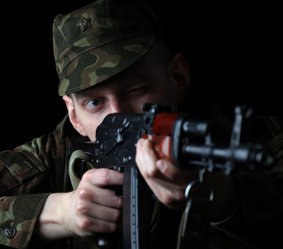 Фотосессия милитари