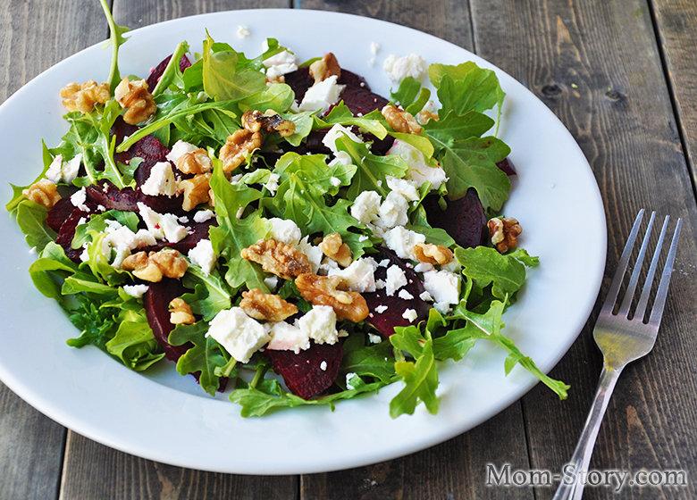 Салат с рукколой рецепты фото