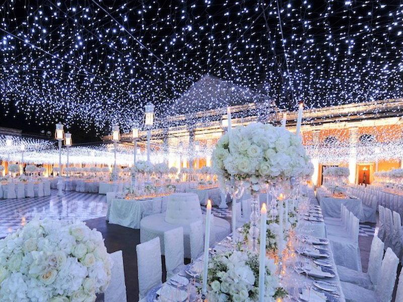 outdoor wedding reception lighting essay
